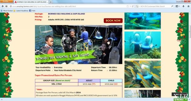 Amazing Borneo Package